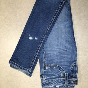 Miss Me Bottoms - Girls Miss Me Jeans Size 14 skinny